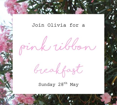 pink ribbon breakfast header